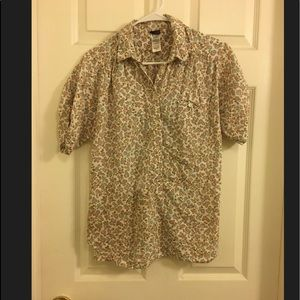 Patagonia Womens Button Blouse Size:M 100% Cotton
